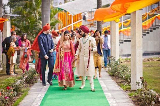 Sewa dewan wedding