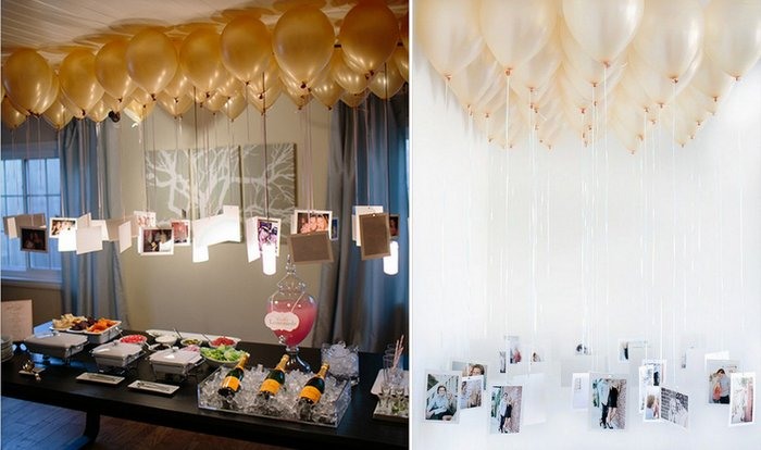 Super Chic DIY Ideas Using Balloons In Your Engagement Reception WedMeGood