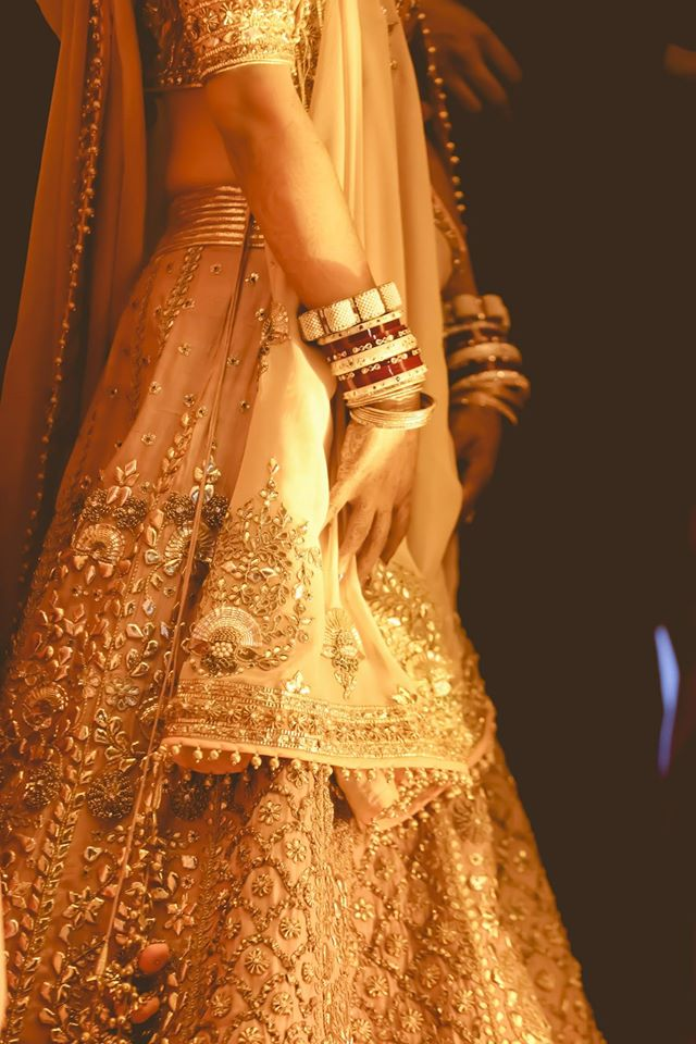 30 prettiest bridal lehengas of 2014 wmg real bride for Indian wedding dresses for bride with price