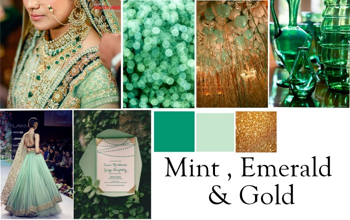 4 wedding color combinations to bookmark for 2015 wedmegood 2 wedding colors indian 2016 junglespirit Gallery