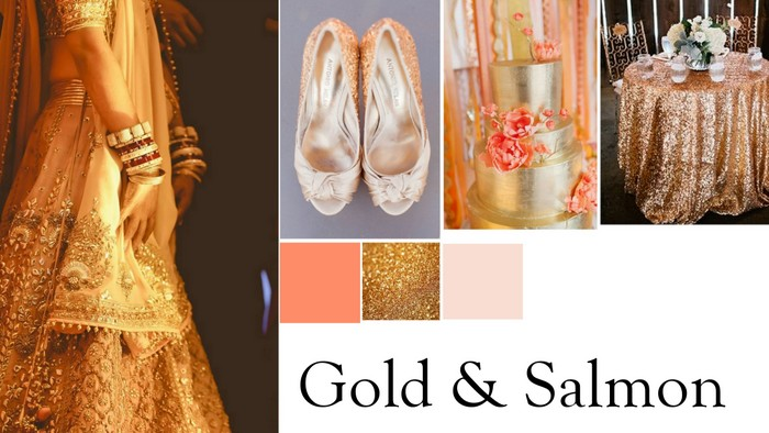 4 wedding color combinations to bookmark for 2015 wedmegood 3 wedding colors indian 2017 junglespirit Gallery