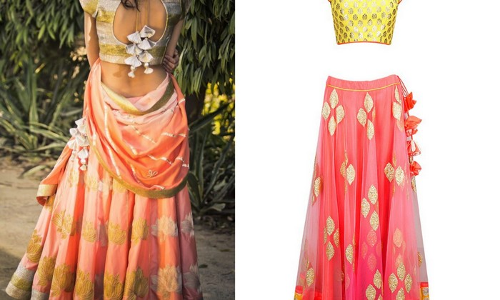 Tie it up: Unique Lehenga Tassels That Add Oomph!, | WedMeGood Cute Embroidery