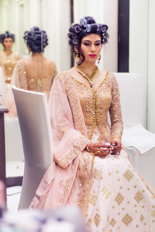 gold-white-anarkali-engagement