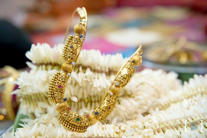 Wedding Rings With Engraved Mangalorean Wedding Ring