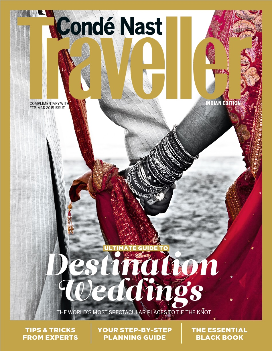 Destination Wedding Supplement_CNT India Feb - Mar 2015_Cover