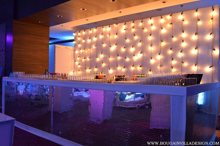 The coolest bar decor ideas for your cocktail wedmegood - Bar decorating ideas pictures ...