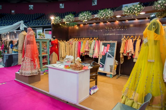 Wedding Exhibition Stall : Inside bridal asia mumbai wedmegood