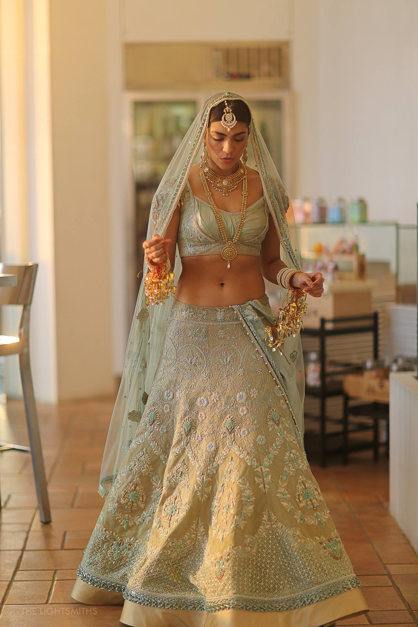 Unusual Bridal Outfit Colors That Totally Work Wedmegood