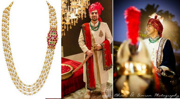 51fa736459d45 Jewels for the Indian groom: Fit for a king | WedMeGood