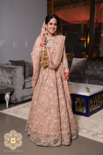 A Glam Pastel Hued Wedding For Designer Ridhi Mehra