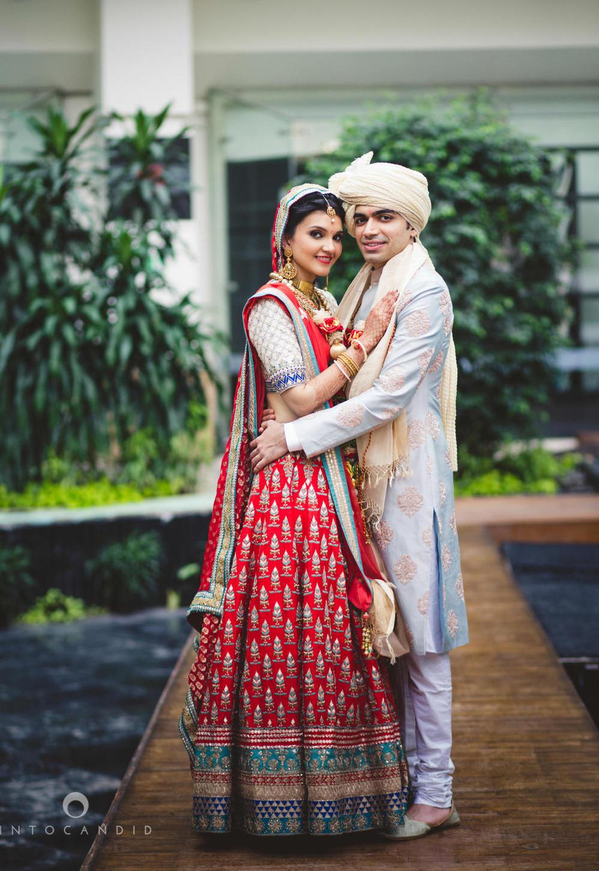 Vibrant Mumbai Wedding At Sahara Star Wedmegood Best